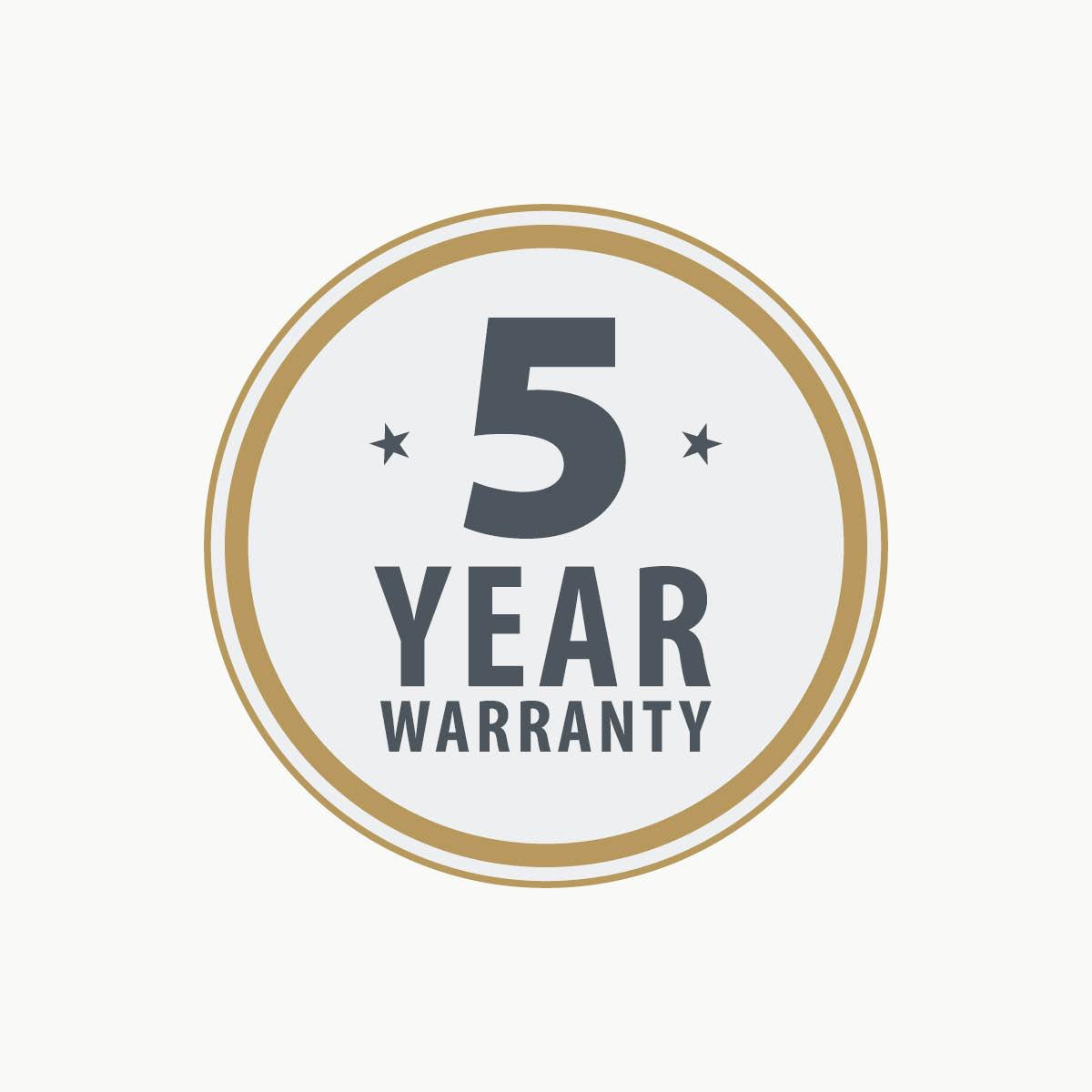 5 year warranty 1200 x 1200 GB
